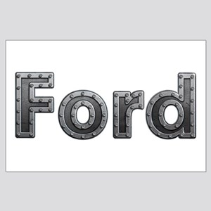 Ford Metal Large Poster