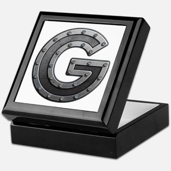 G Metal Keepsake Box