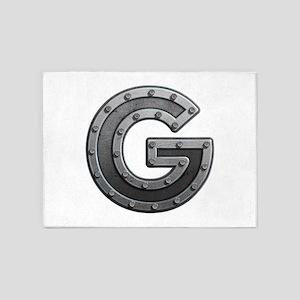 G Metal 5'x7' Area Rug