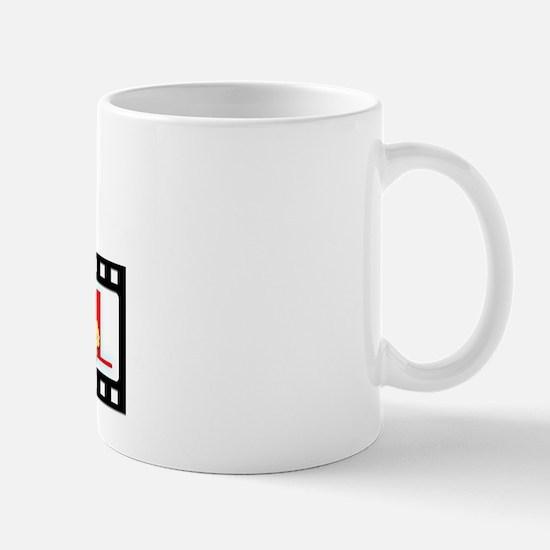 I Love ASL & Movies Mug