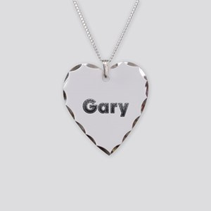Gary Metal Heart Necklace