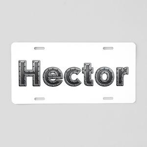 Hector Metal Aluminum License Plate
