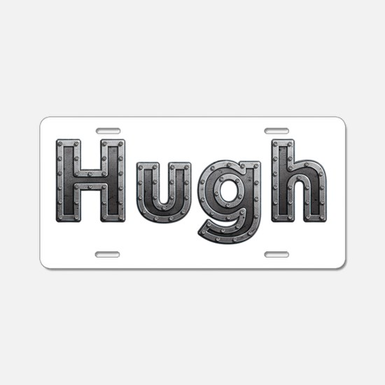 Hugh Metal Aluminum License Plate