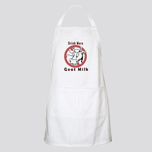 Drink More Goat Milk BBQ Apron