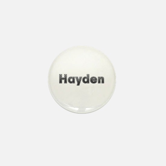 Hayden Metal Mini Button