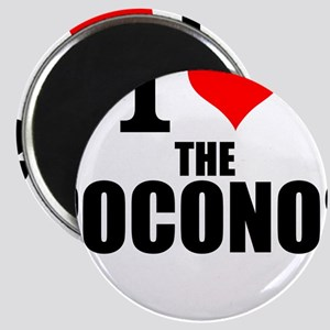 I Love The Poconos Magnets