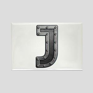 J Metal Rectangle Magnet