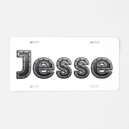 Jesse Metal Aluminum License Plate