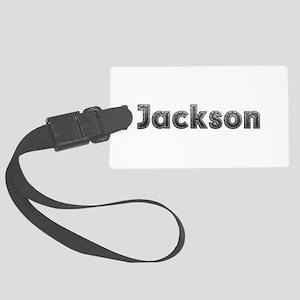 Jackson Metal Large Luggage Tag