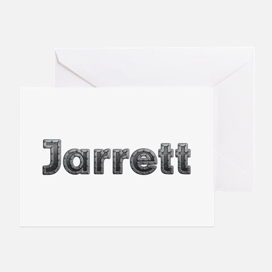Jarrett Metal Greeting Card