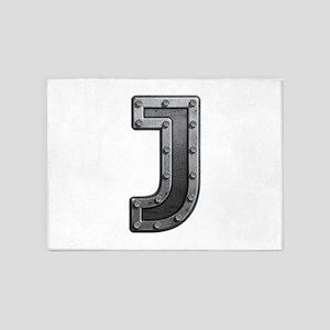 J Metal 5'x7' Area Rug
