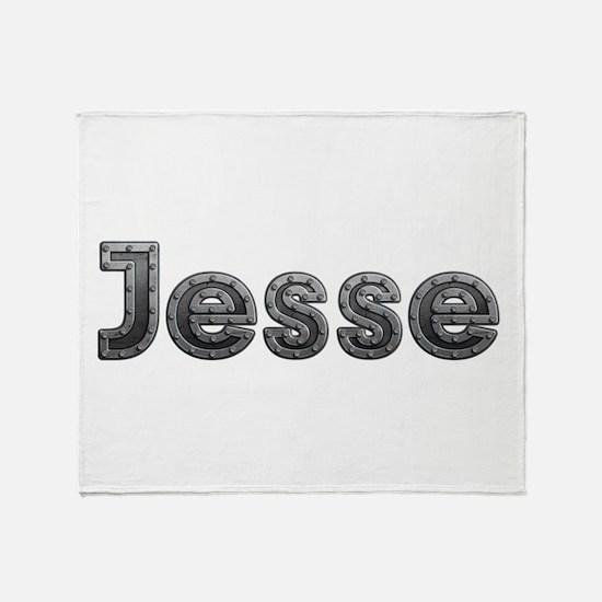 Jesse Metal Throw Blanket
