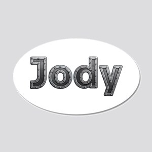 Jody Metal 20x12 Oval Wall Decal