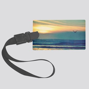 Take Me to the Sea Large Luggage Tag