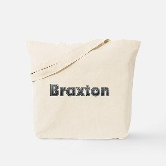 Braxton Metal Tote Bag
