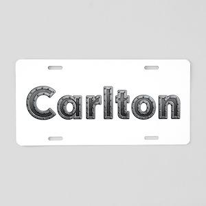 Carlton Metal Aluminum License Plate