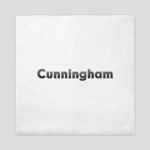 Cunningham Metal Queen Duvet
