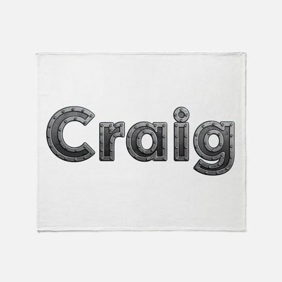 Craig Metal Throw Blanket