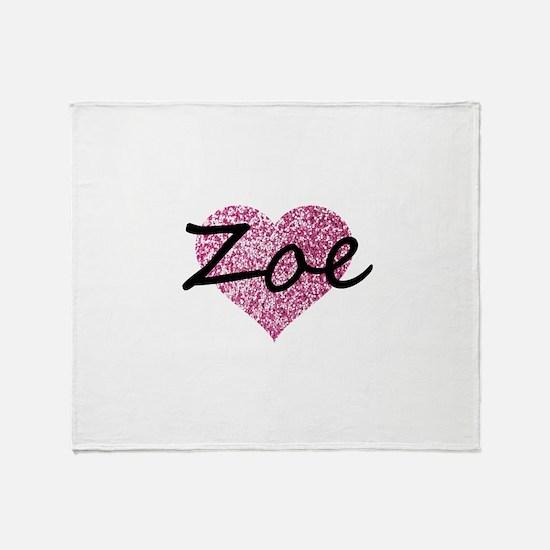 Zoe Throw Blanket