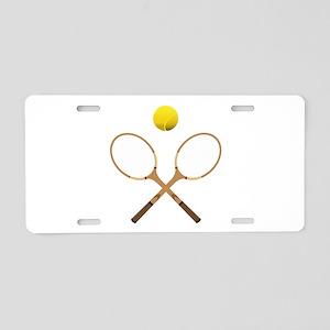 Sports - Tennis - No Txt Aluminum License Plate