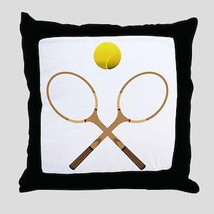 Sports - Tennis - No Txt Throw Pillow