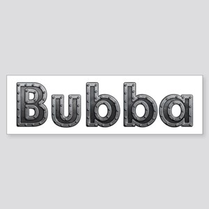 Bubba Metal Bumper Sticker