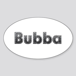 Bubba Metal Oval Sticker