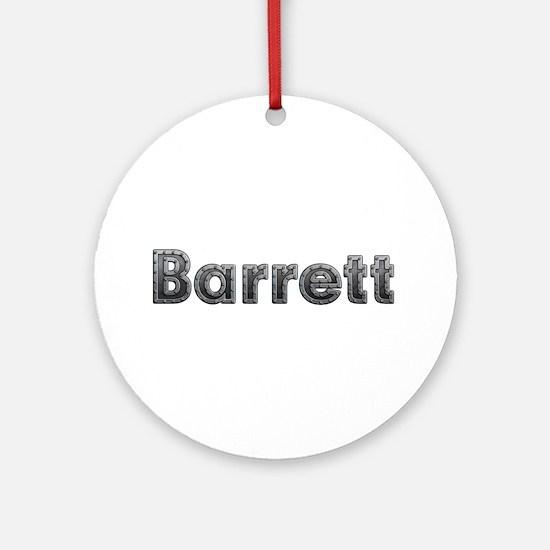 Barrett Metal Round Ornament