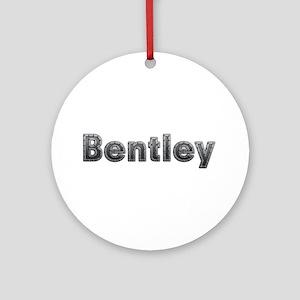 Bentley Metal Round Ornament