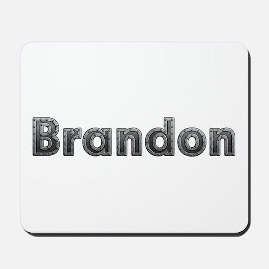 Brandon Metal Mousepad