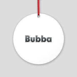 Bubba Metal Round Ornament