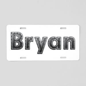 Bryan Metal Aluminum License Plate