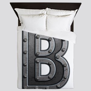B Metal Queen Duvet