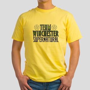 Team Winchester Yellow T-Shirt