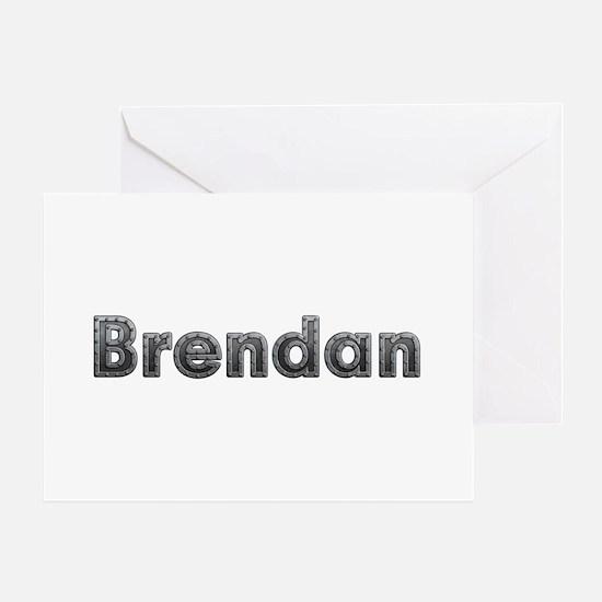 Brendan Metal Greeting Card
