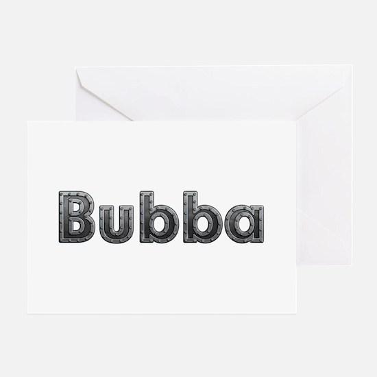 Bubba Metal Greeting Card