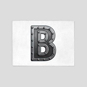 B Metal 5'x7' Area Rug