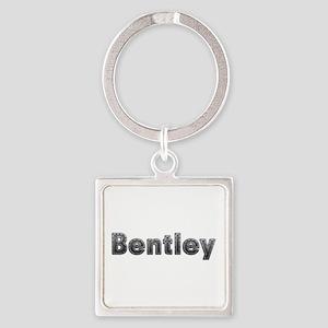 Bentley Metal Square Keychain