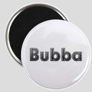 Bubba Metal Round Magnet