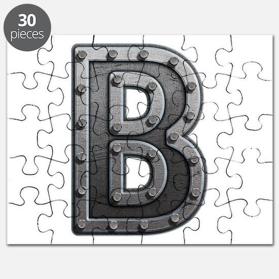 B Metal Puzzle