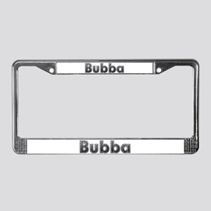 Bubba Metal License Plate Frame
