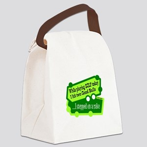 Stepped On A Rake/Henny Youngman Canvas Lunch Bag