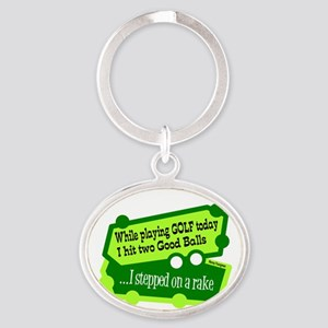 Stepped On A Rake/Henny Youngman Keychains