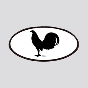 Gamecock Rooster Silhouette Patches
