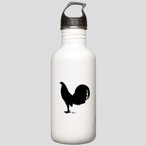 Gamecock Rooster Silhouette Water Bottle