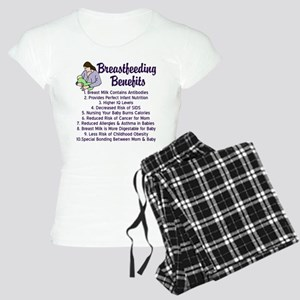 Breastfeeding Benefits Women's Light Pajamas