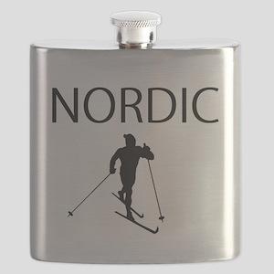 NORDIC SKI Flask