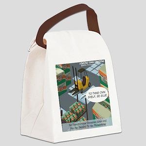 Shakespearean Glue Canvas Lunch Bag