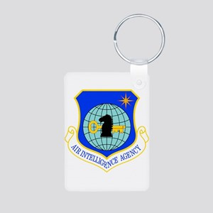 Air Intelligence Agency Aluminum Photo Keychain