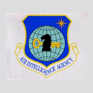 Air Intelligence Agency Throw Blanket